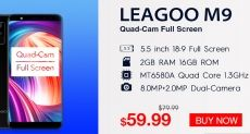 Распродажа от Leagoo: не пропусти свою скидку