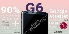 LG G6 обещает быть синонимом надежности
