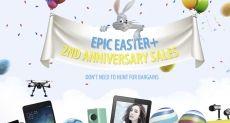 Распродажа смартфонов и другой электроники в честь 2-го дня рождения GearBest