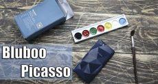 Bluboo Picasso: распаковка самого элитного смартфона в своем ценовом сегменте