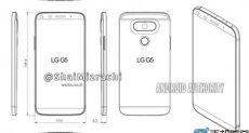 LG G5: чертеж флагмана «утек» в сеть