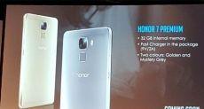 Huawei Honor 7 Premium Edition: смартфон для европейских пользователей с 32 Гб ПЗУ и технологией быстрой зарядки