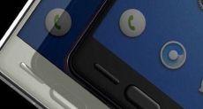 Рендеры Smartisan T3: три механические кнопки на лицевой панели со сканером отпечатков пальцев в центральной