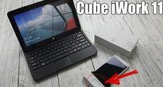 Cube iWork 11: распаковка недоультрабука