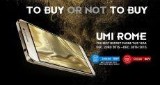 Акция на смартфон UMi Rome и аксессуары BlitzWolf в интернет-магазине Banggood.com