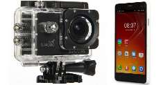 Купить SJCAM SJ5000 Plus, SJ4000, SJ5000 Wifi  и Elephone P3000s 3GB по купону