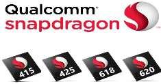 Snapdragon 415, 425, 618 и 620 – новые 64-битные чипы от производителя Qualcomm