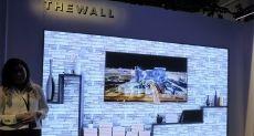 Модульный телевизор-стена на 146 дюймов на выставке CES 2018