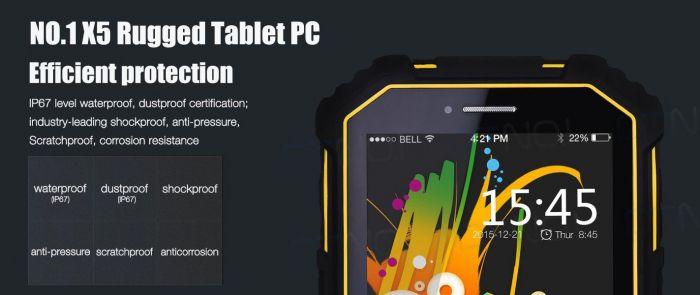 No.1 X5: защищенный 7-дюймовый планшет с поддержкой 4G LTE – фото 3