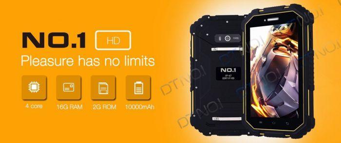 No.1 X5: защищенный 7-дюймовый планшет с поддержкой 4G LTE – фото 2