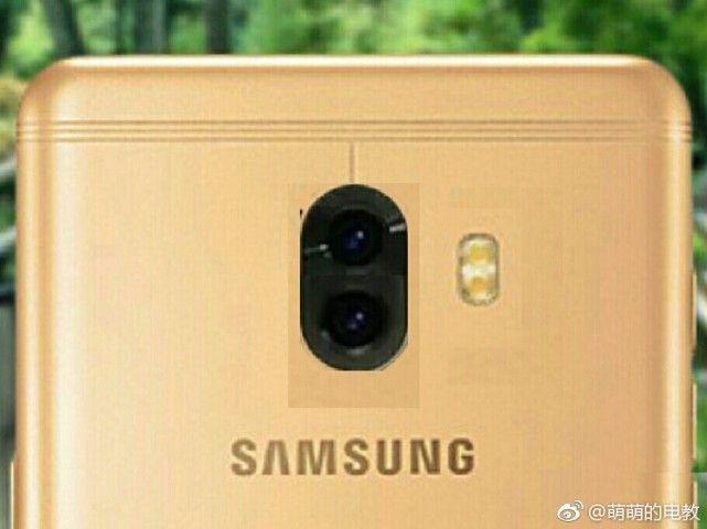 Samsung Galaxy C10 — первый смартфон Samsung с двойной камерой – фото 1