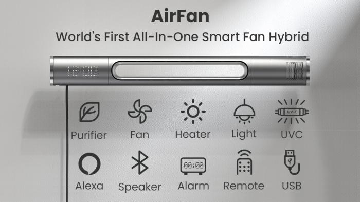 Умный вентилятор способен охладить, согреть и разбудить – фото 2