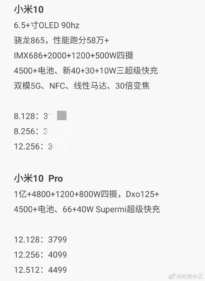 Реверсивная зарядка и четверная камера: свежие слухи о Xiaomi Mi 10 – фото 1