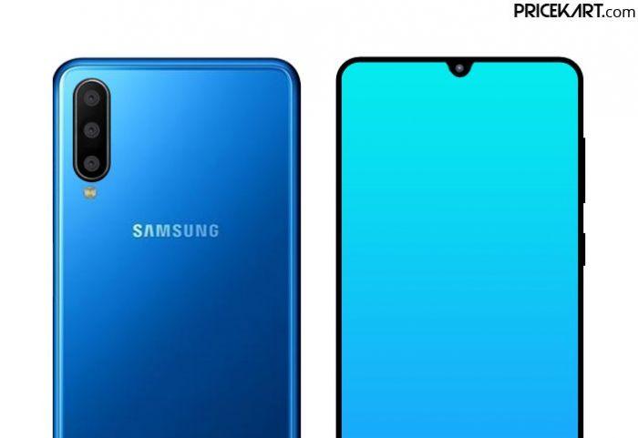 Samsung Galaxy A60 предстал на рендере – фото 1