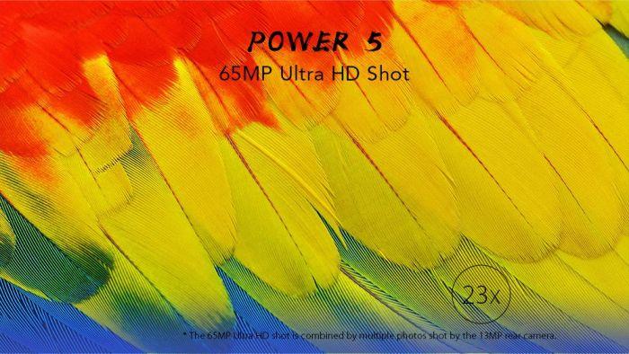 Leagoo Power 5: аккумулятор на 7000 мАч и поддержка 65 Мп Ultra-HD – фото 1