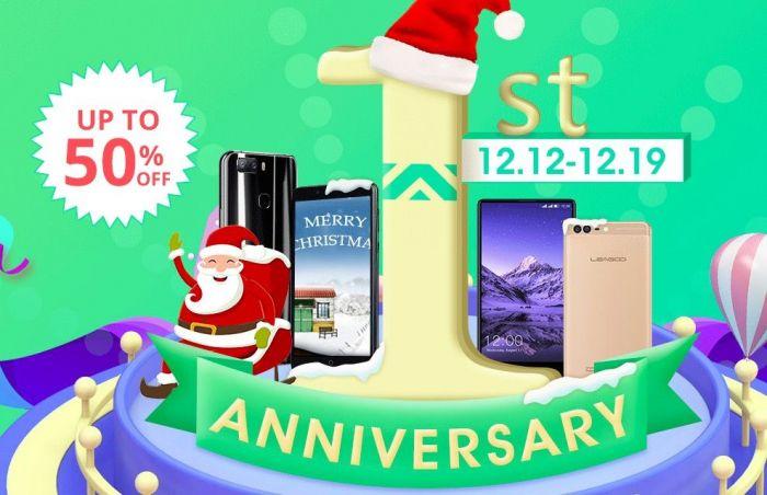 Leagoo празднует день рождения скидками на смартфоны до 50% – фото 1