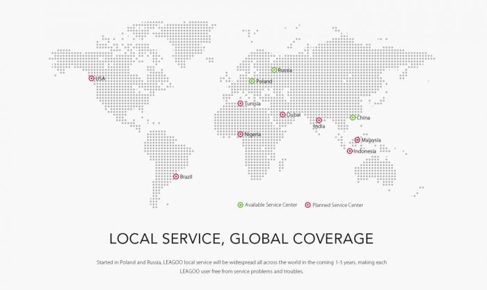 В России и Европе заработали сервисные центры Leagoo – фото 3
