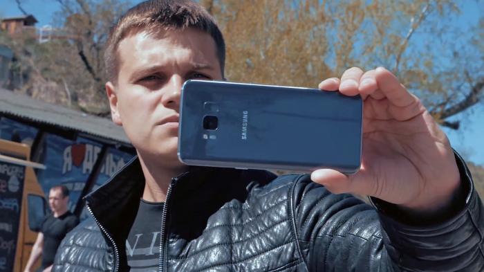 как фотографирует Samsung Galaxy S8