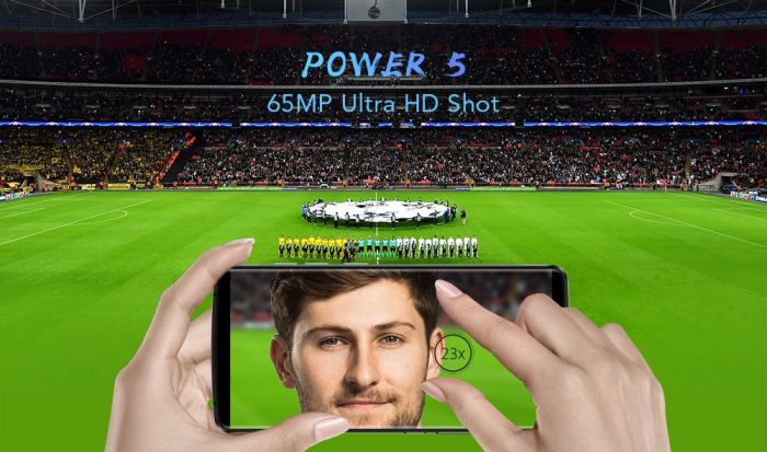 Leagoo Power 5: аккумулятор на 7000 мАч и поддержка 65 Мп Ultra-HD – фото 3