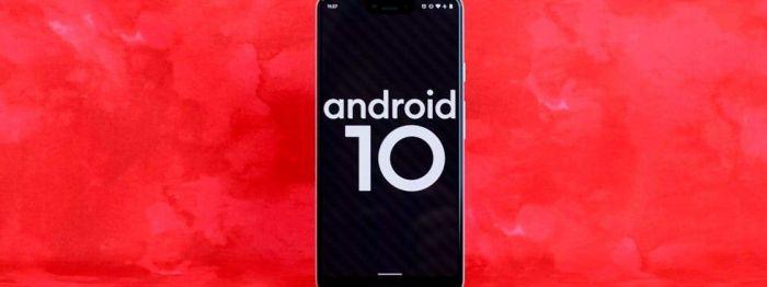 Samsung получат Android 10