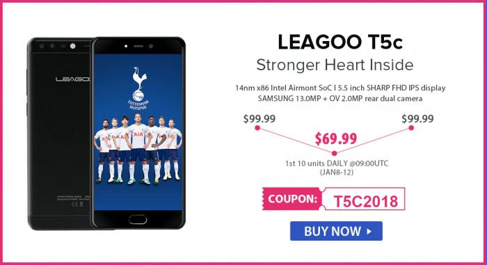 Скидки до 50% на смартфоны Leagoo в магазине Gearbest – фото 4