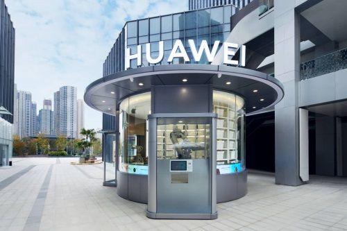 Huawei открыла «умный» магазин с роботами