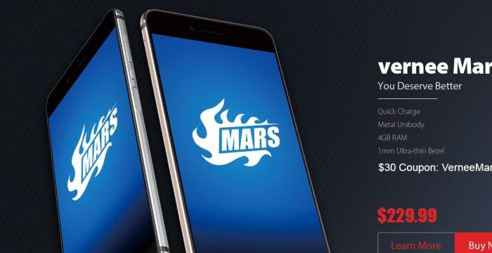 Vernee Mars в магазине Tomtop.com за $199.99. Красивее, чем iPhone 7, не хуже, чем Sony Xperia XA – фото 1
