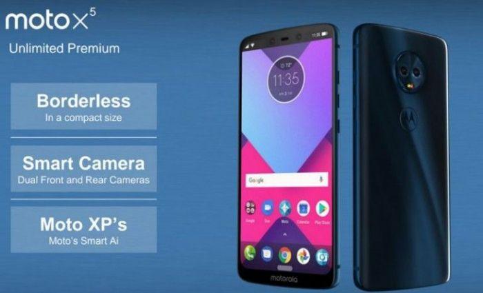 Moto X5 на рендере: четыре камеры и вырез от iPhone X – фото 1