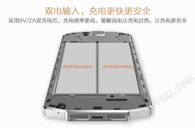 Ouki Black Bull P6 – версия Oukitel K10000 для Китая с 2.5D-стеклом Gorilla Glass 4 и двумя аккумуляторами по 5000 мАч – фото 3