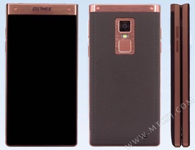 Gionee W909 – раскладной смартфон с двумя 4,2 - дюймовыми HD-дисплеями и процессором Helio P10 – фото 1