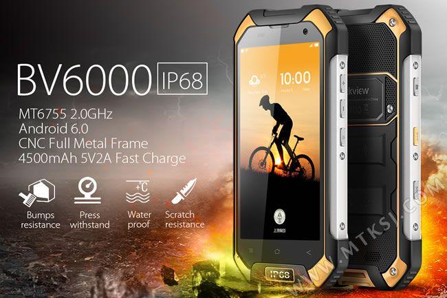 Blackview BV6000 с 4,7-дюймовым дисплеем, процессором Helio P10 и корпусом с защитой IP68 уже доступен по цене менее $200 – фото 1