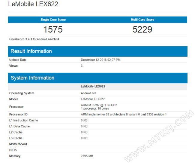 LeEco Le X622 сертифицирован в Китае – фото 1