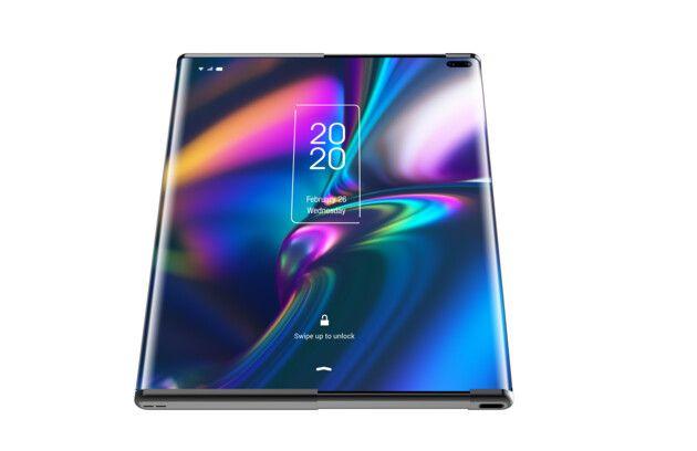 TCL показала две концепции гибких смартфонов: с раздвижным дисплеем и складывающийся втрое – фото 3