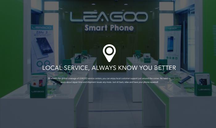 В России и Европе заработали сервисные центры Leagoo – фото 1