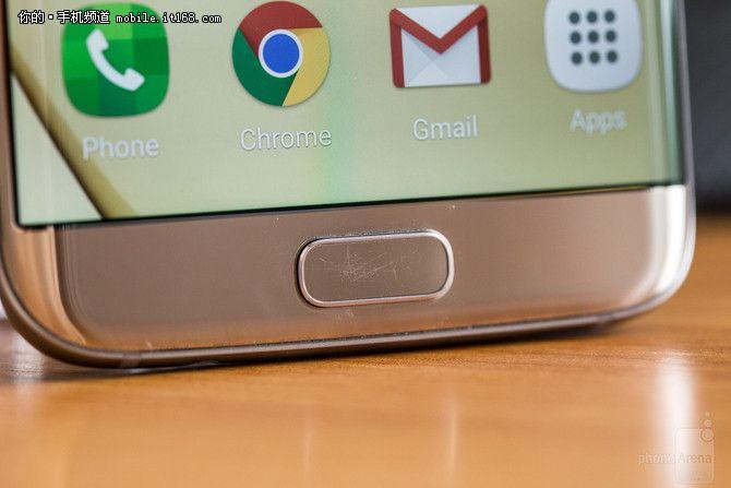 Пользователи Samsung Galaxy S7 жалуются на быстрое появление царапин на кнопке «Домой» – фото 2