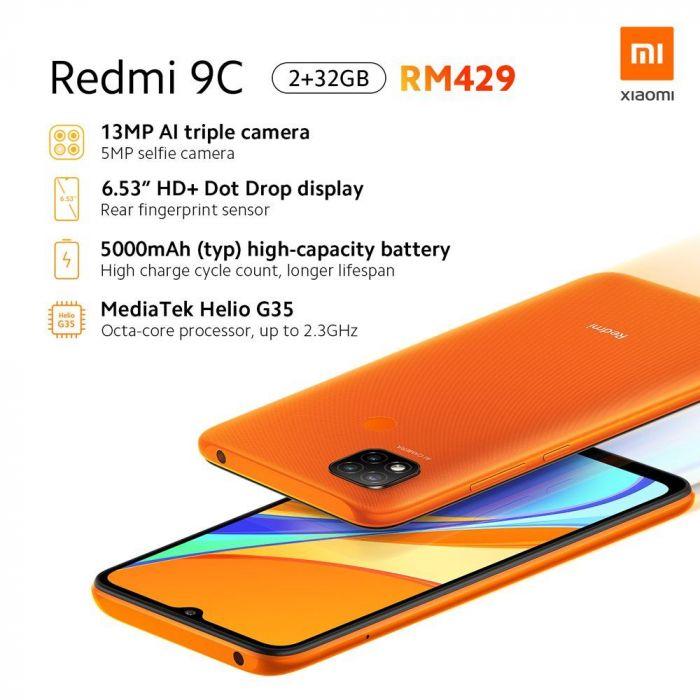 Представлен Redmi 9C: даешь больше дешевых смартфонов – фото 2