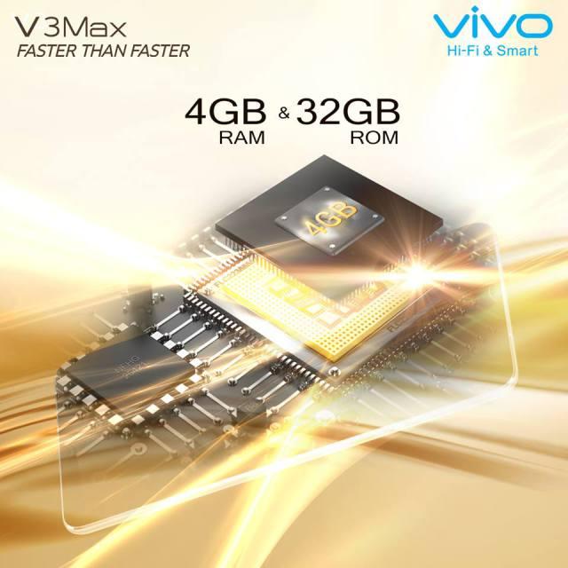 Vivo V3 и V3 Max с 4 Гб ОЗУ и датчиком Touch ID представят в апреле – фото 1
