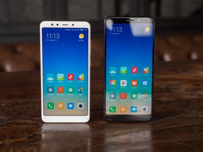 сравнение разрешения экрана Xiaomi Redmi 5, Xiaomi Redmi 5 Plus