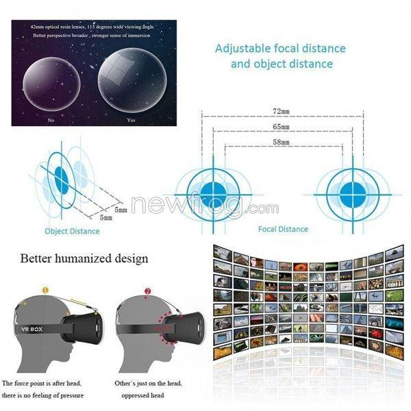 Шлем виртуальной реальности Vodol 3D VR всего за $12,84 в магазине Newfrog.com – фото 4