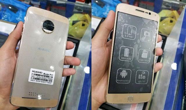 Первые фото Huawei P11 — фейк – фото 1
