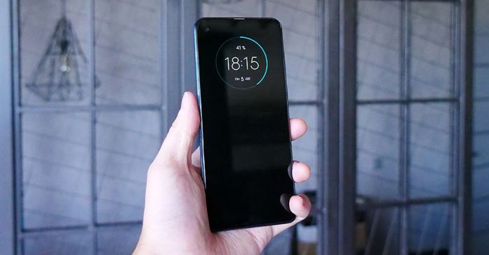 фирменные надстройки Motorola One Vision
