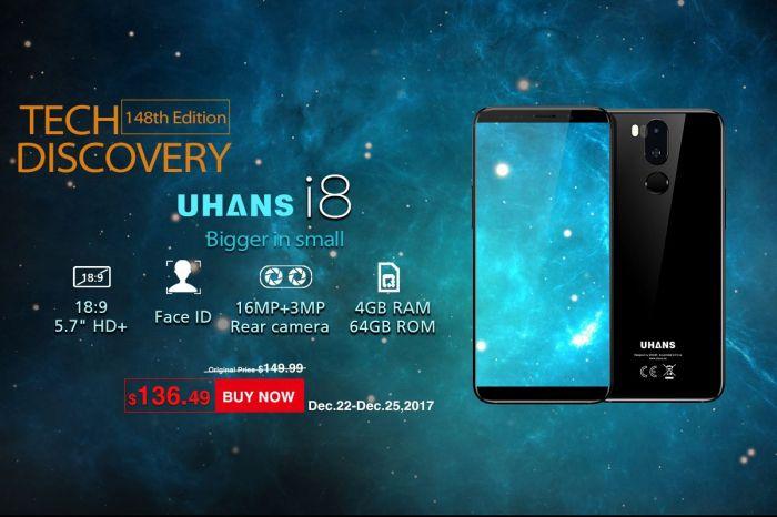 Успей купить UHANS i8 по выгодной цене – фото 1
