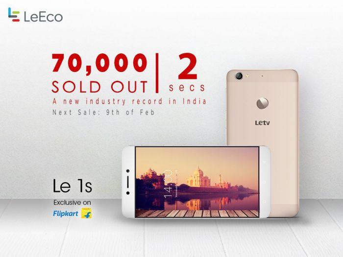 LeEco (LeTV) дебютировал в Индии: 70 тысяч экземпляров продано за 2 секунды – фото 2