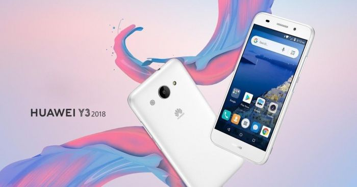 Представлен Huawei Y3 2018 на Android Go – фото 1
