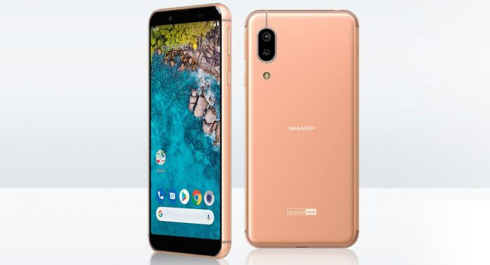 Анонс Sharp S7 на базе Android One
