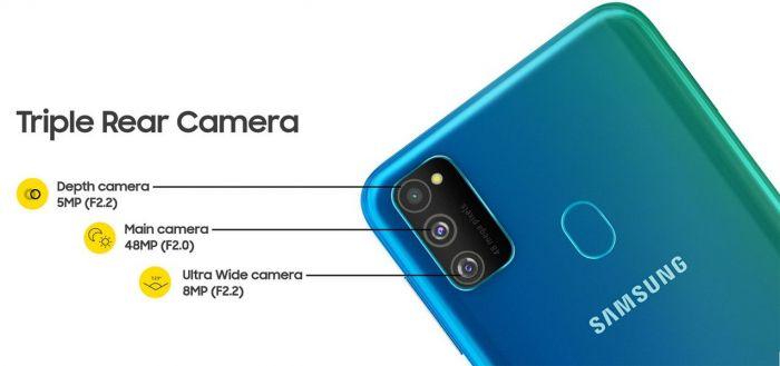 Представлен Samsung Galaxy M30s: выносливый смартфон с тройной камерой и 10-нм чипом – фото 1