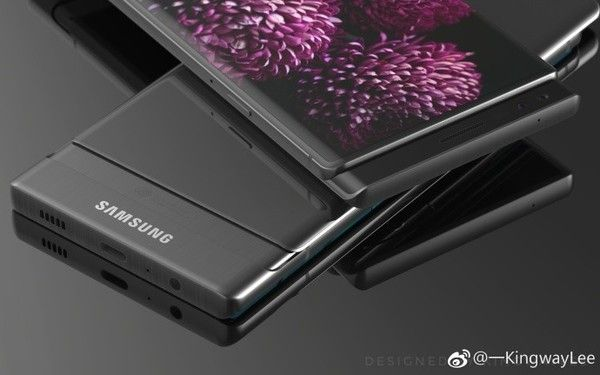 Слайдер Samsung Galaxy S9 — смелый эксперимент концептодела – фото 2
