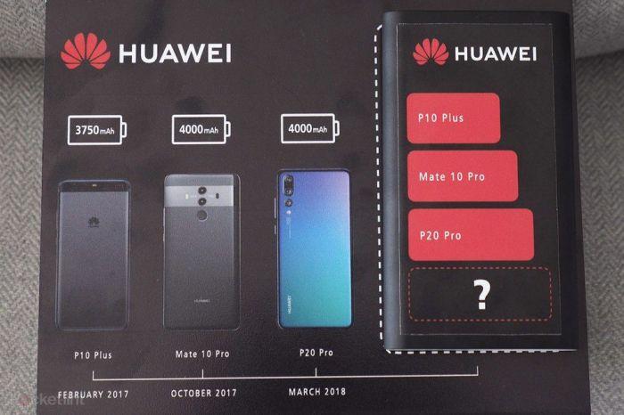 Huawei Mate 20 Pro получит самый большой аккумулятор среди флагманов – фото 1