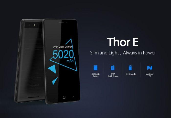 На AliExpress только 1000 смартфонов Vernee Thor E по цене $99,99 – фото 2