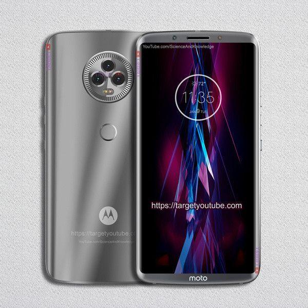 Это «безрамочный» Moto X5 с мощным посылом по камерам – фото 2
